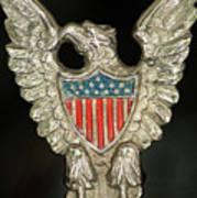 American Metal Eagle Art Print