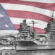 American Naval Power Art Print