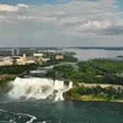 American Niagara Falls #2 Art Print