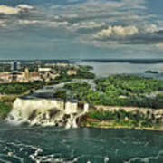 American Niagara Falls  Art Print