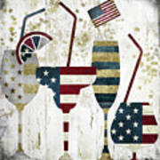 American Party Art Print