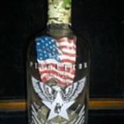 American Pendleton Commemorative Bottle Art Print