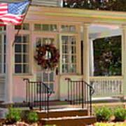 American Porch Art Print