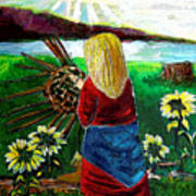 American Princess Art Print