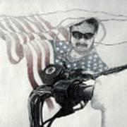American Rider Art Print