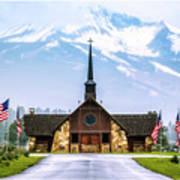 American Soldiers Chapel Art Print