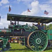 American Steam Roller Art Print