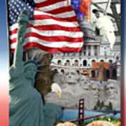 American Symbolicism Art Print
