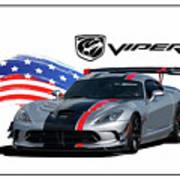 American Venom Art Print