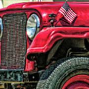 American Willys Art Print