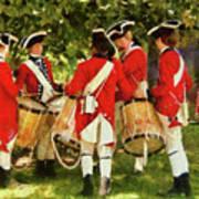 Americana - People - Preparing For Battle Art Print