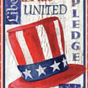Americana Patriotic Art Print