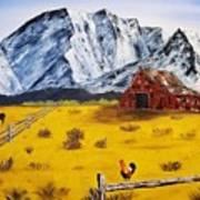 Americana - Plains Of Colorado Art Print