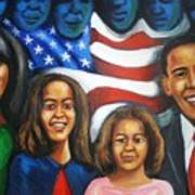 America's First Family Print by Jan Gilmore