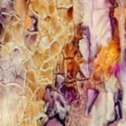 Amethyst And Copper 1 Art Print