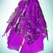 Ameynra Fashion - Iris Skirt Art Print