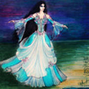 Ameynra. Night Dance Before Wedding Art Print