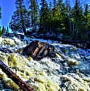 Amincon River Rootbeer Falls Art Print