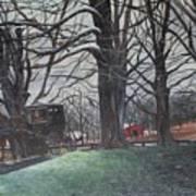 Amish 1 Art Print