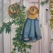 Amish At Rest Art Print