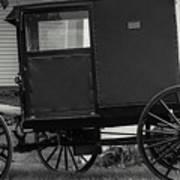 Amish Wagon _pa Art Print