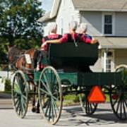 Amish Women Art Print