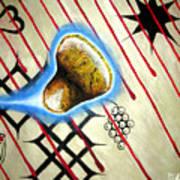 Amoebanglass2 Art Print