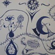 Among The Vines Art Print