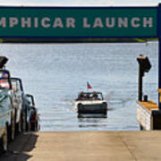 Amphicar Launch Art Print