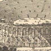 Amphitheater Of Verona Art Print