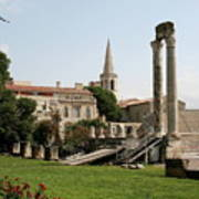 Amphitheater Ruins - Arles - France Art Print