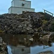 Amphitrite Point Lighthouse Reflections Art Print