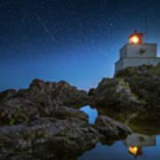 Amphitrite Point Lighthouse Art Print