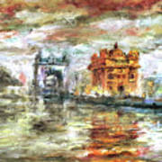 Amritsar Palace Art Print