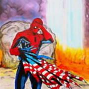 Ams 9/11 Tribute Illustration Edition Art Print