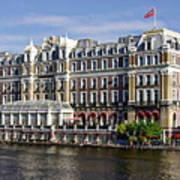 Amstel Amsterdam Hotel Art Print