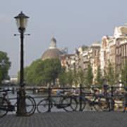 Amsterdam Bridge Art Print