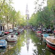Amsterdam Canal Art Print