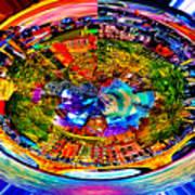 Amsterdam Frisbee Art Print