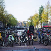 Amsterdam Parking Lot Art Print