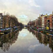 Amsterdam Reflected Art Print
