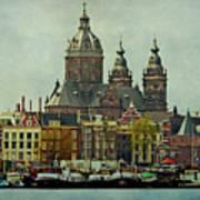 Amsterdam Skyline Art Print