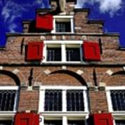 Amsterdam Windows Art Print
