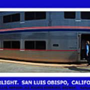 Amtrak San Luis Obispo Art Print