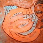 Amuweeke - Tile Art Print