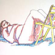 Bonnie And Chair Art Print