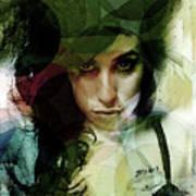 Amy Whirls  Art Print