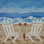 Amy's Beach Art Print