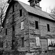An Abandoned Mill Art Print