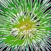 An Abstract Scene Of Sea Anemone 2 Art Print